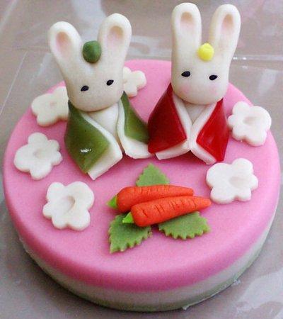 オリジナル創作和菓子ケーキ